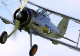 Gloster Gladiator Military Aircraft (British Biplane Fighter) Print/Poster. Sizes: A4/A3/A2/A1 (003483)